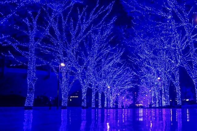 クリスマスイルミネーション 渋谷 青の洞窟 | 交際クラブ・デートクラブのデートで使えそうなイルミネーション♪ | 高級交際クラブTen Carat「10カラットブログ」