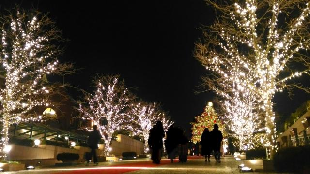 クリスマスの恵比寿 | 交際クラブ・デートクラブのデートで使えそうなイルミネーション♪ | 高級交際クラブTen Carat「10カラットブログ」