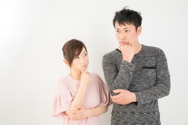 悩む男女 | デートする相手との年齢差は気にする?気にしない? | 高級交際クラブTen Carat「10カラットブログ」