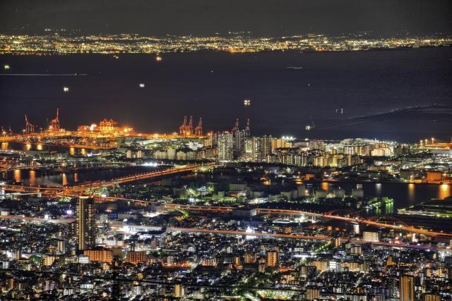神戸の夜景 | 女性が喜ぶシティホテルデートプラン | 高級交際クラブTen Carat「10カラットブログ」